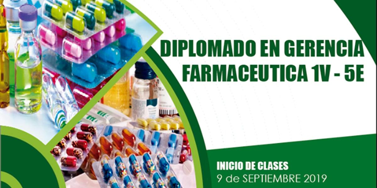 Diplomado en Gerencia Farmacéutica 1V - 5E