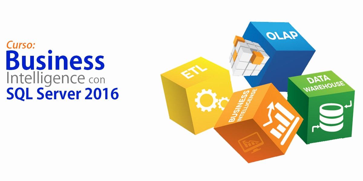 Curso  Business Intelligence con SQL Server 2016