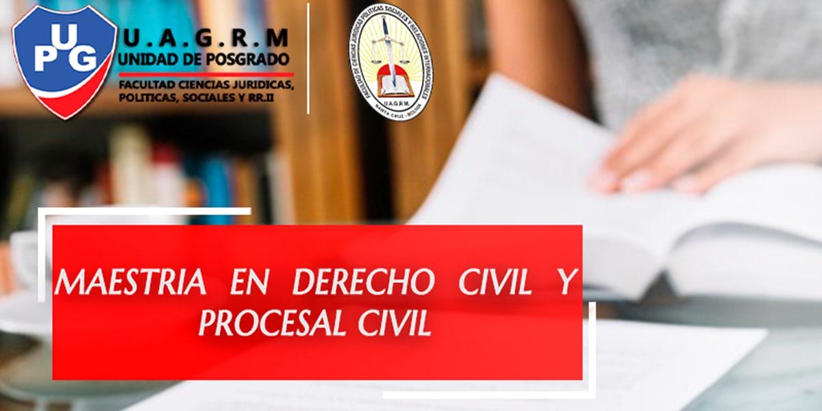 Maestría en Derecho Civil y Procesal Civil
