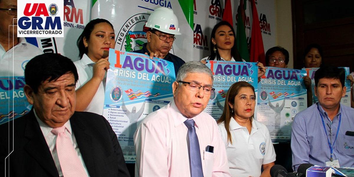 UAGRM realiza el Primer Simposio sobre la crisis del Agua en el País