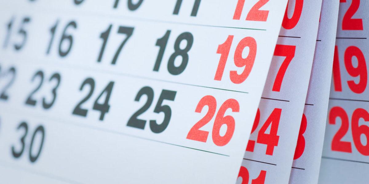 Modificación de fecha para la P.S.A. 1/2020