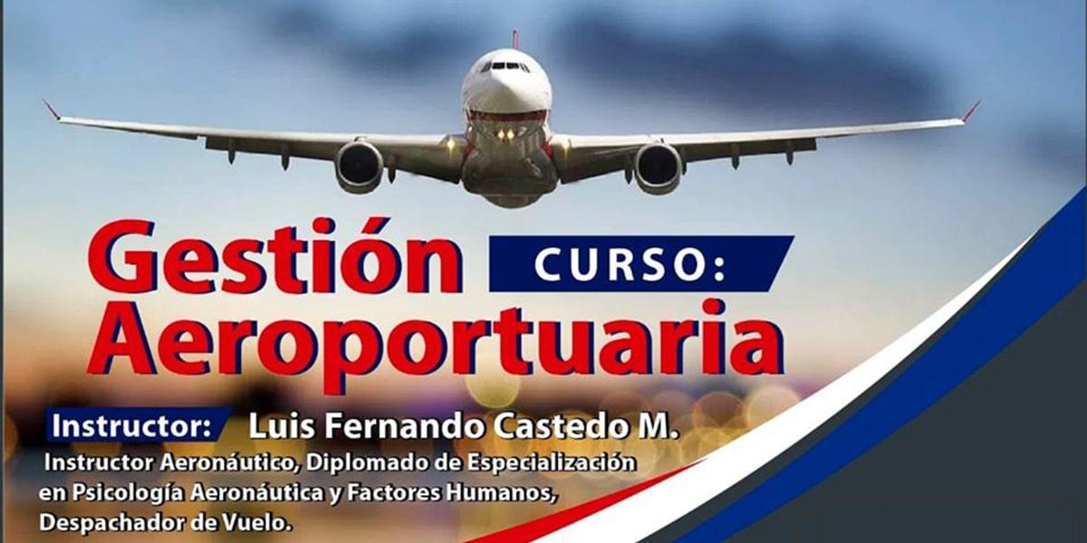 Curso de Gestión Aeroportuaria
