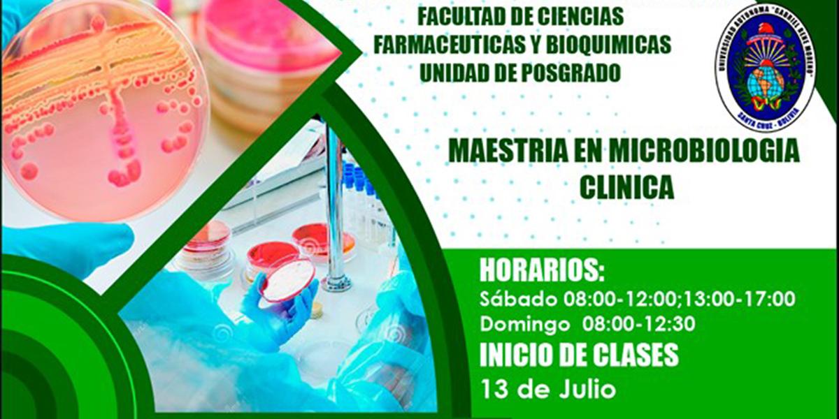 Maestría en Microbiología Clínica