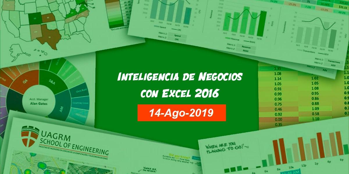 Curso Inteligencia de Negocio con Excel 2016