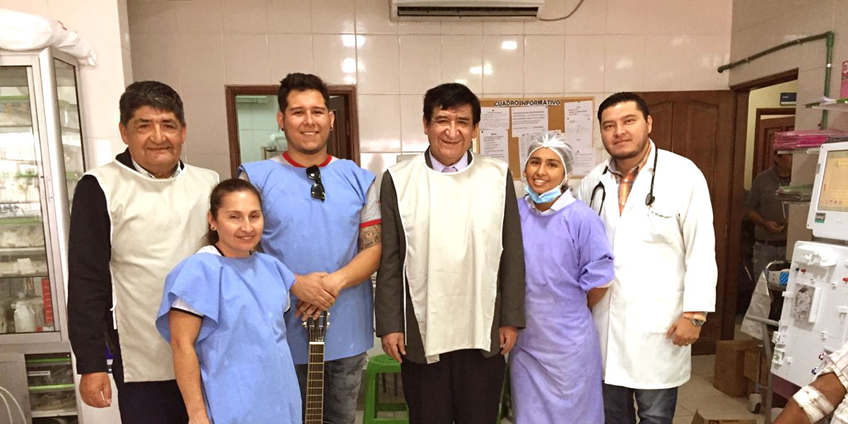 Terapia musical para pacientes de Davosan
