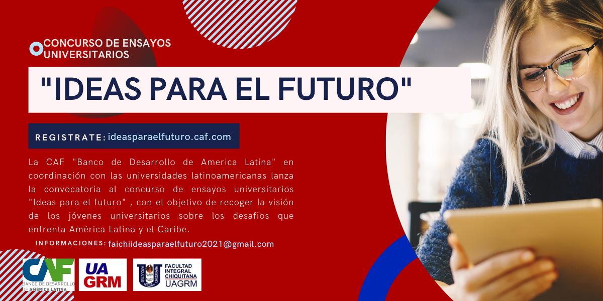 """Concurso """"Ideas para el futuro"""""""