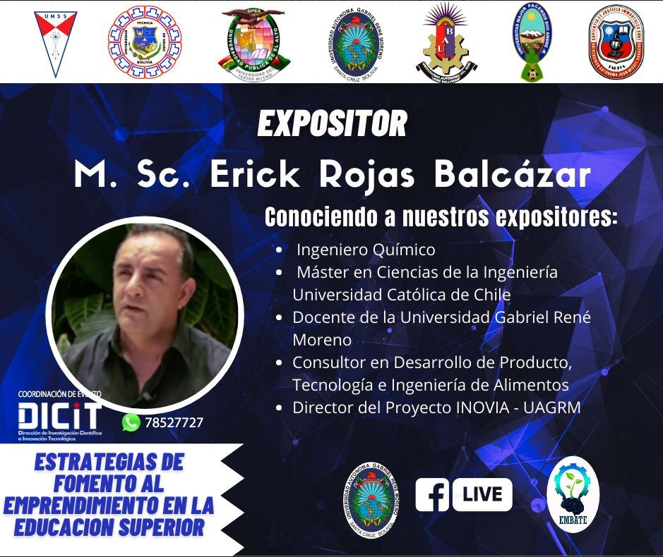 Primer Encuentro del Ecosistema Emprendedor Universitario de Bolivia