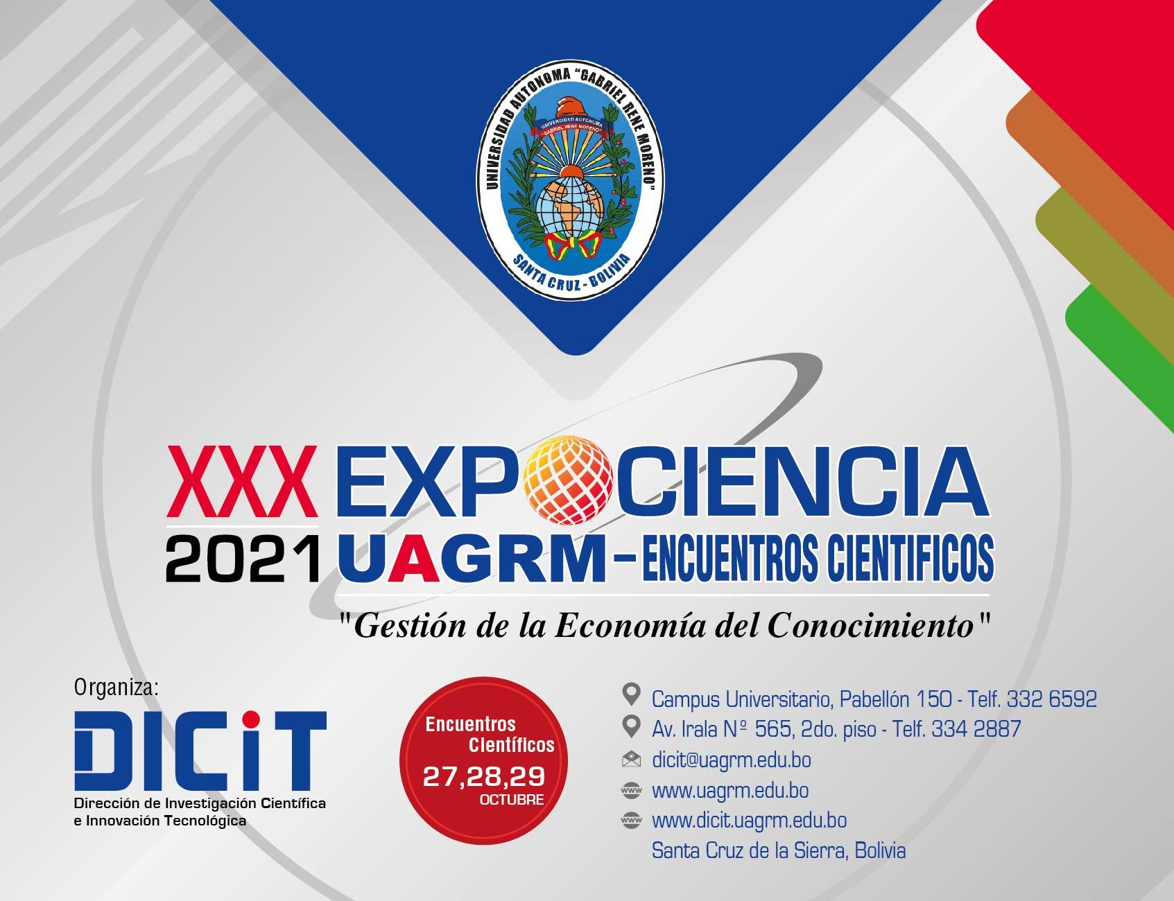 XXX Expociencia UAGRM 2021