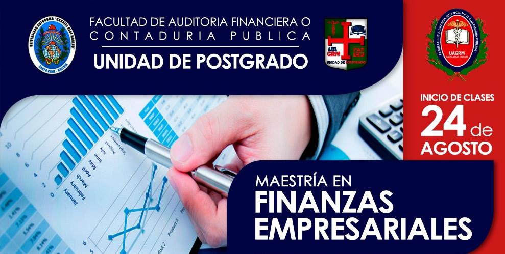 Maestría en Finanzas Empresariales