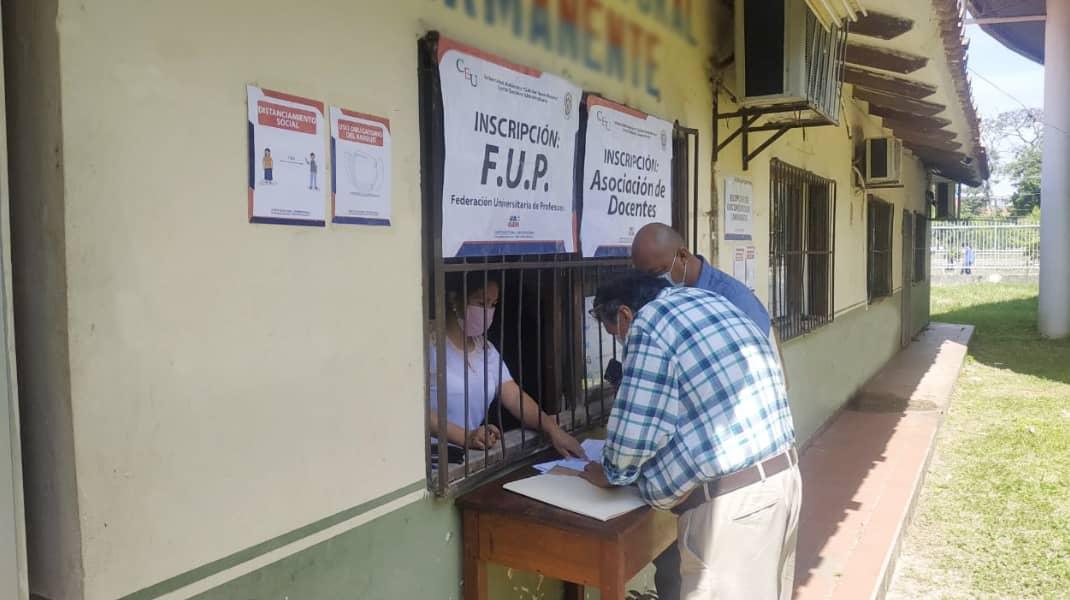 Fenece el plazo de las inscripciones para las elecciones del Estamento Docente