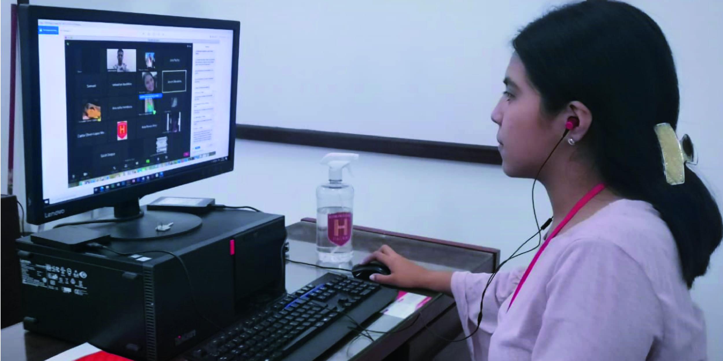 Humanidades implementa oficina virtual